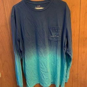 XL Vineyard Vines Long Sleeve Shirt - Unisex
